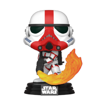 Funko POP! Vinyl Star Wars The Mandalorian : Incinerator Stormtrooper - Pre-order